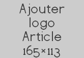 Ajouter logo Article 165×113